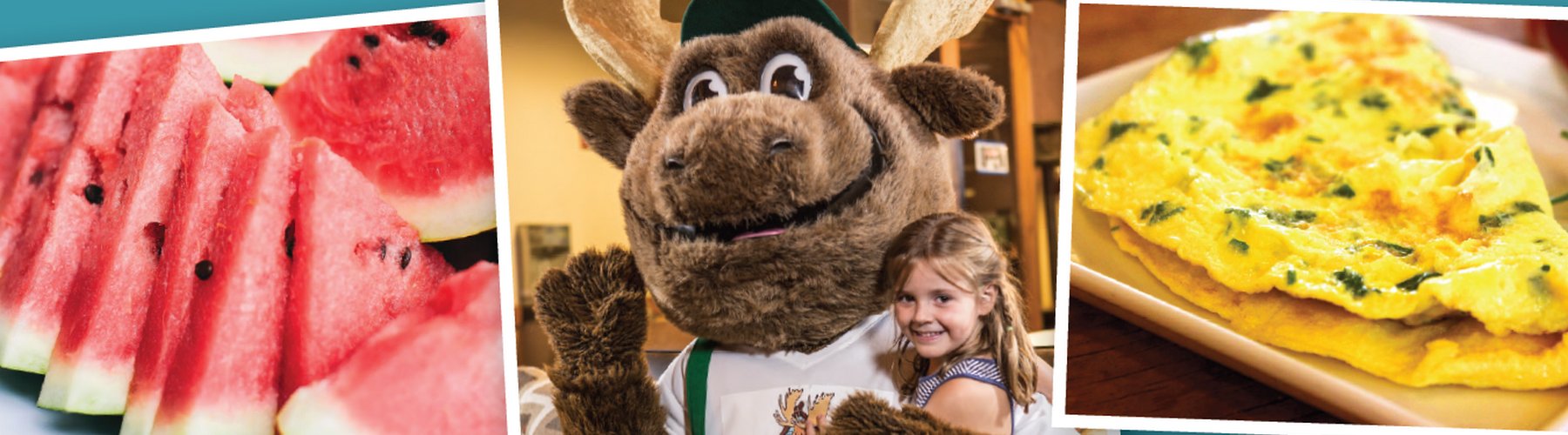 Bruce the Moose Character Breakfast