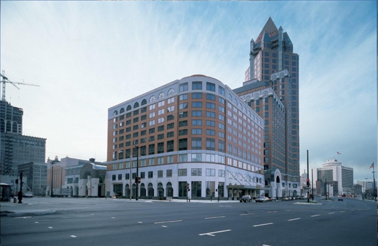 Exterior shot of Saint Kate hotel