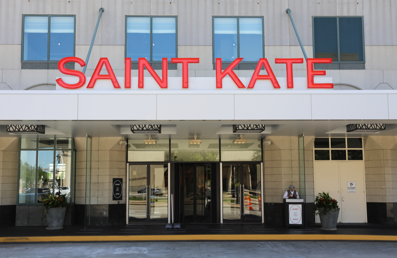 Saint Kate entryway